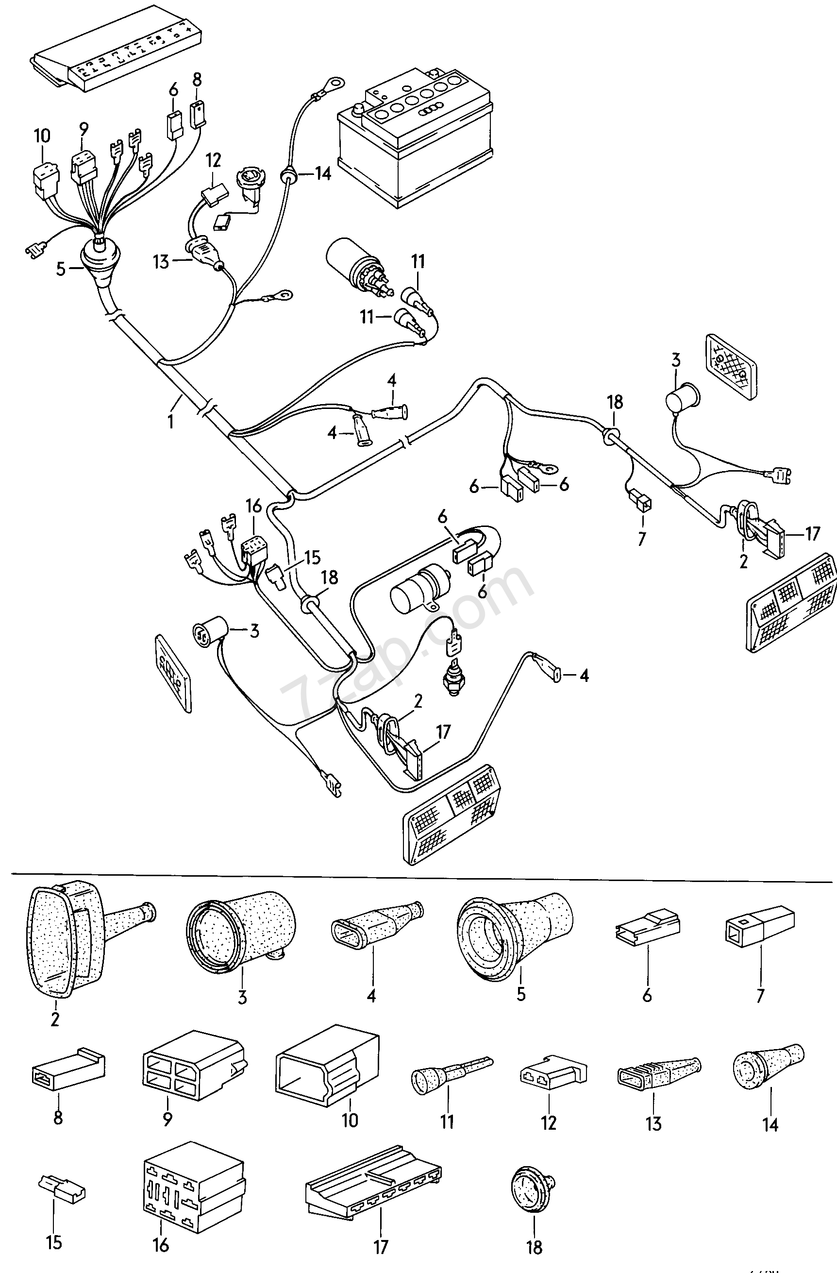 vanagon fuse box wiring library Ford Starter Wiring Diagram wiring harness for fuse box tail light f vanagon