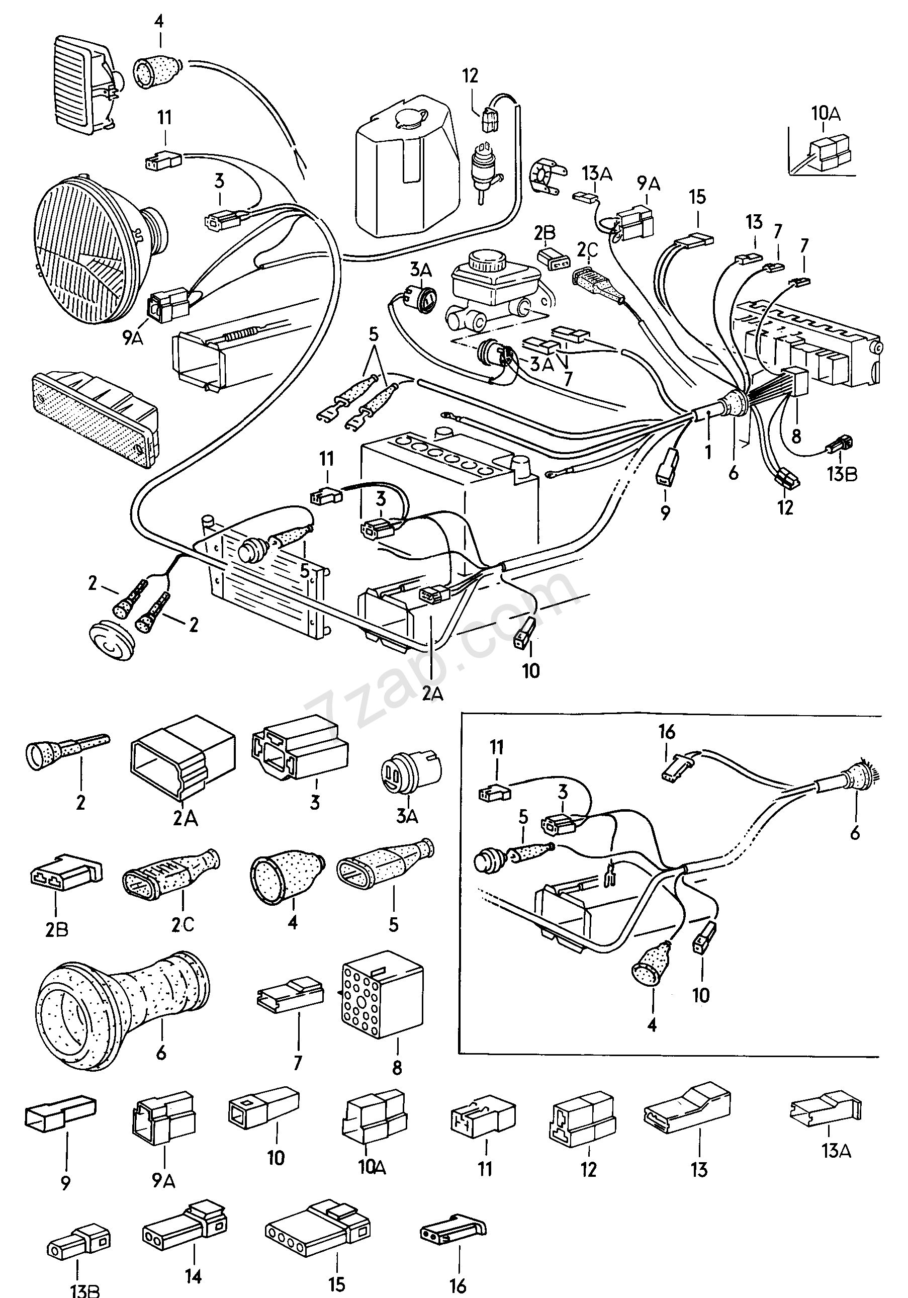 f15 wiring harness f15 wiring diagram and schematics wiring harness front left f >> 15 k