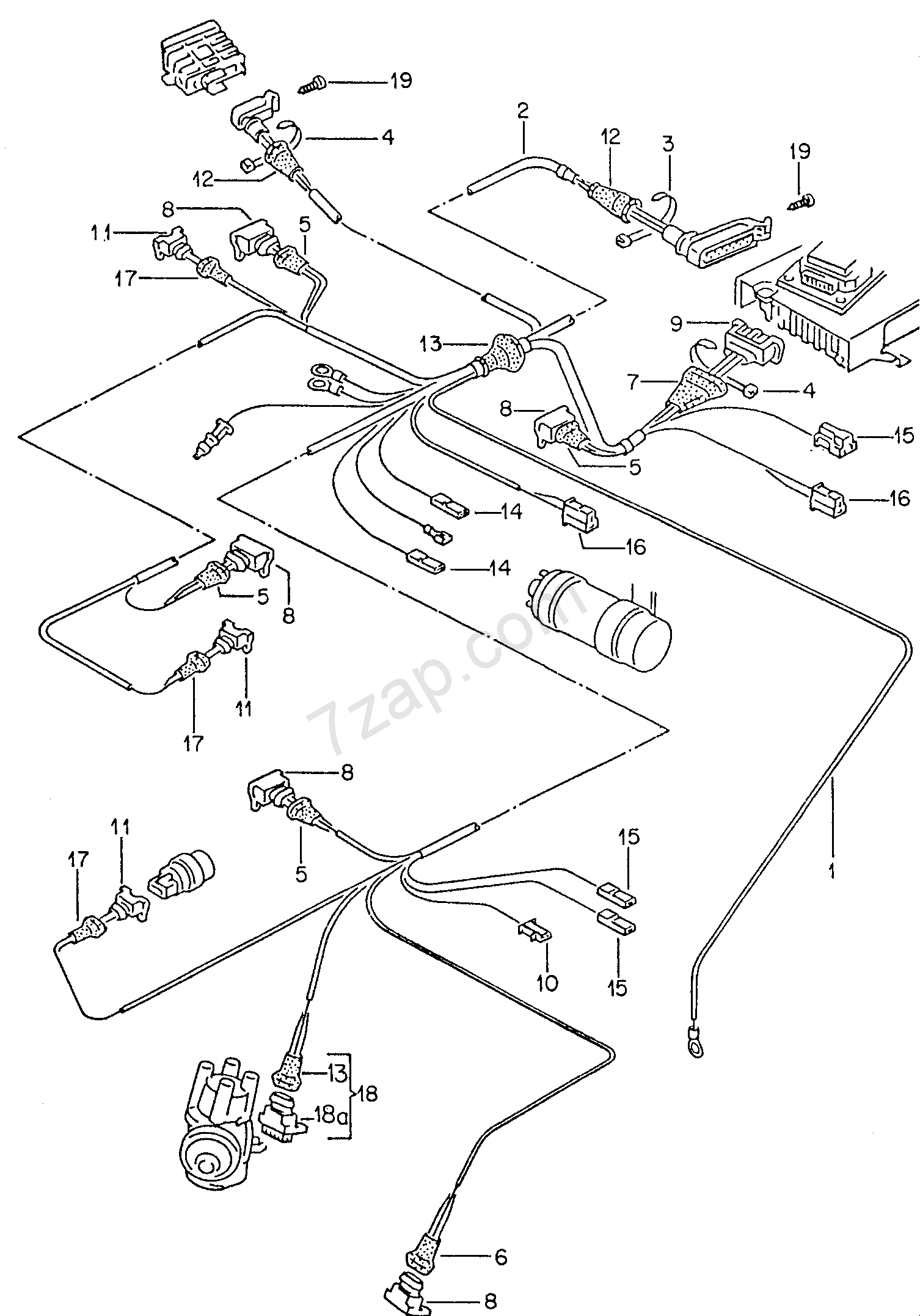 042162000 vehicle wiring harness 7 pin,wiring free download printable wiring,Rv Trailer Wiring Diagram 7 Way