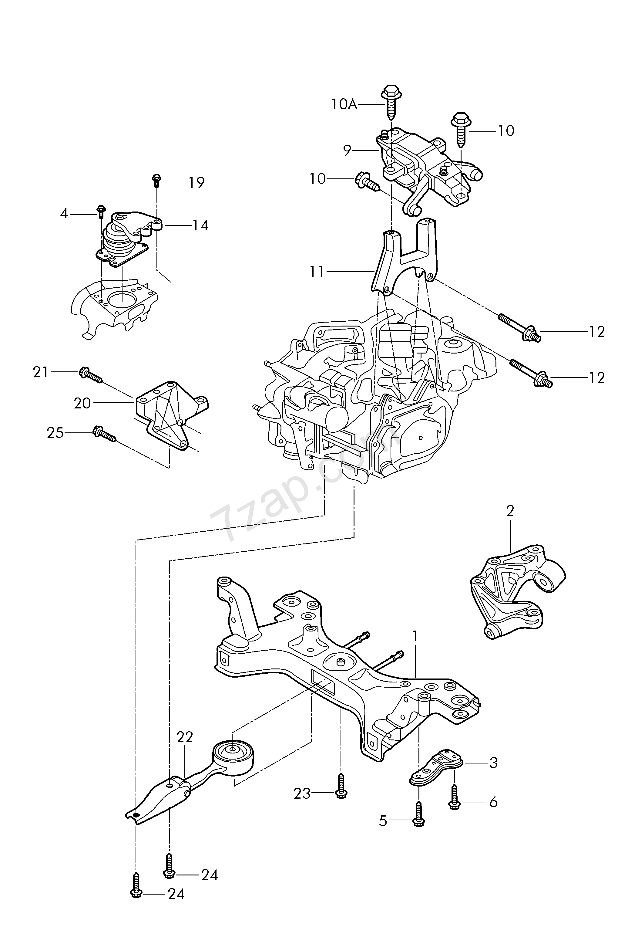 Vw Engine Mount Diagram Electrical Wiring Diagrams W8 Mounting Parts For And Transmission Fox Fo 2015 Year 2000 Jetta