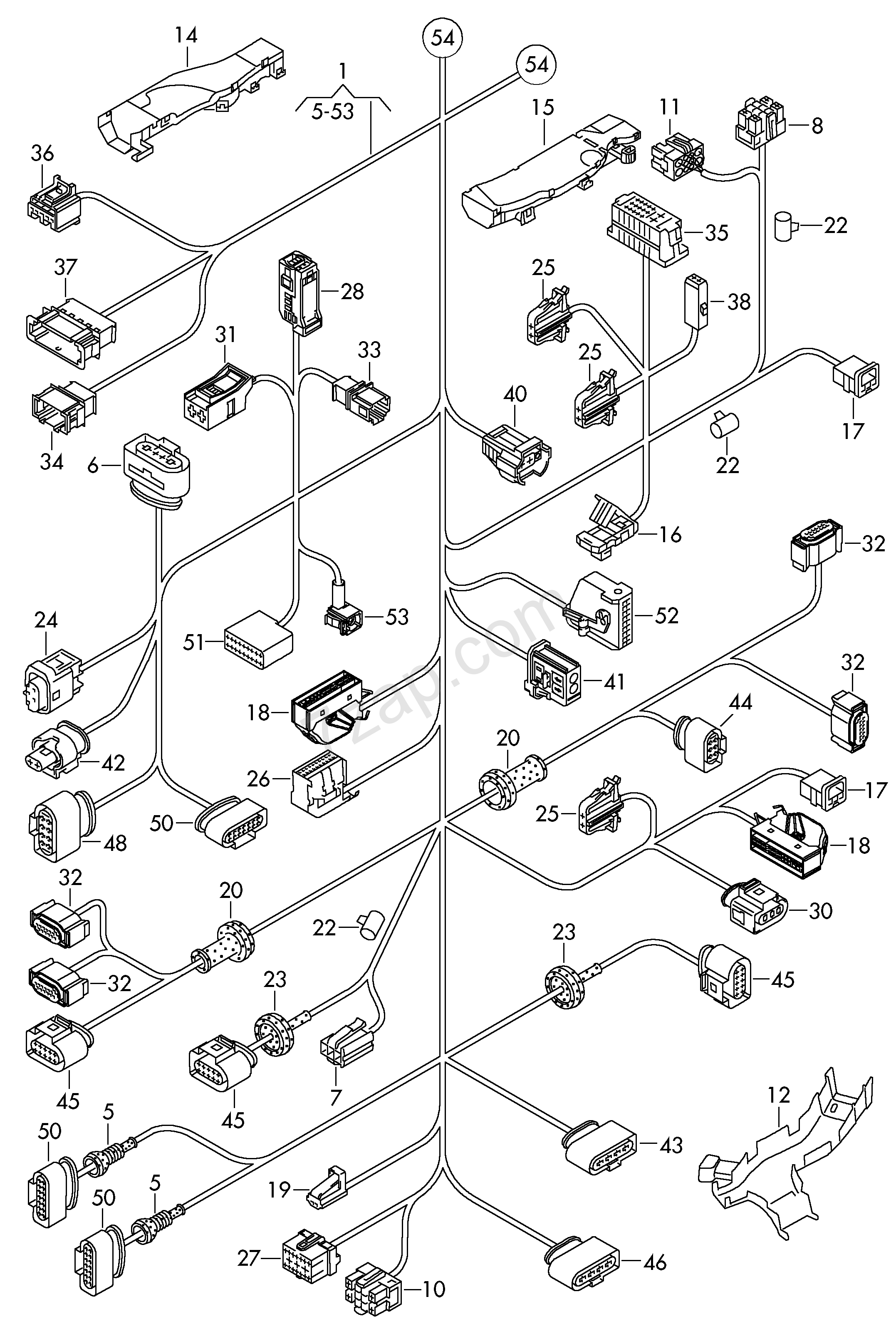 Wiring Diagram Database  2014 Vw Jetta Fuse Diagram