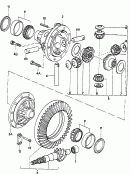 differential<br/>pinion gear set