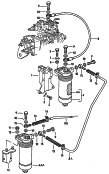 fuel filter<br/>water trap