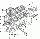 cylinder head<br/>cylinder head cover<br/>housing for